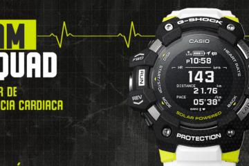 Casio lanza un nuevo G-SHOCK ideal para entrenamiento