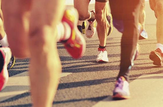 Corriendo en la calle