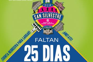 San Silvestre, ¡CUENTA REGRESIVA!