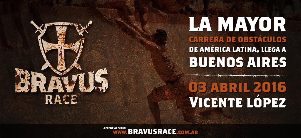 Bravus Race: llega a la Argentina la mayor carrera de obstáculos