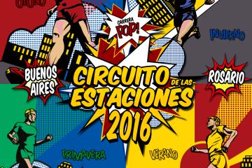 ¡Se viene el Circuito de las Estaciones 2016!