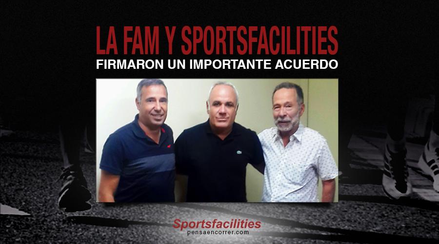 La FAM Y Sportsfacilities firmaron un importante acuerdo