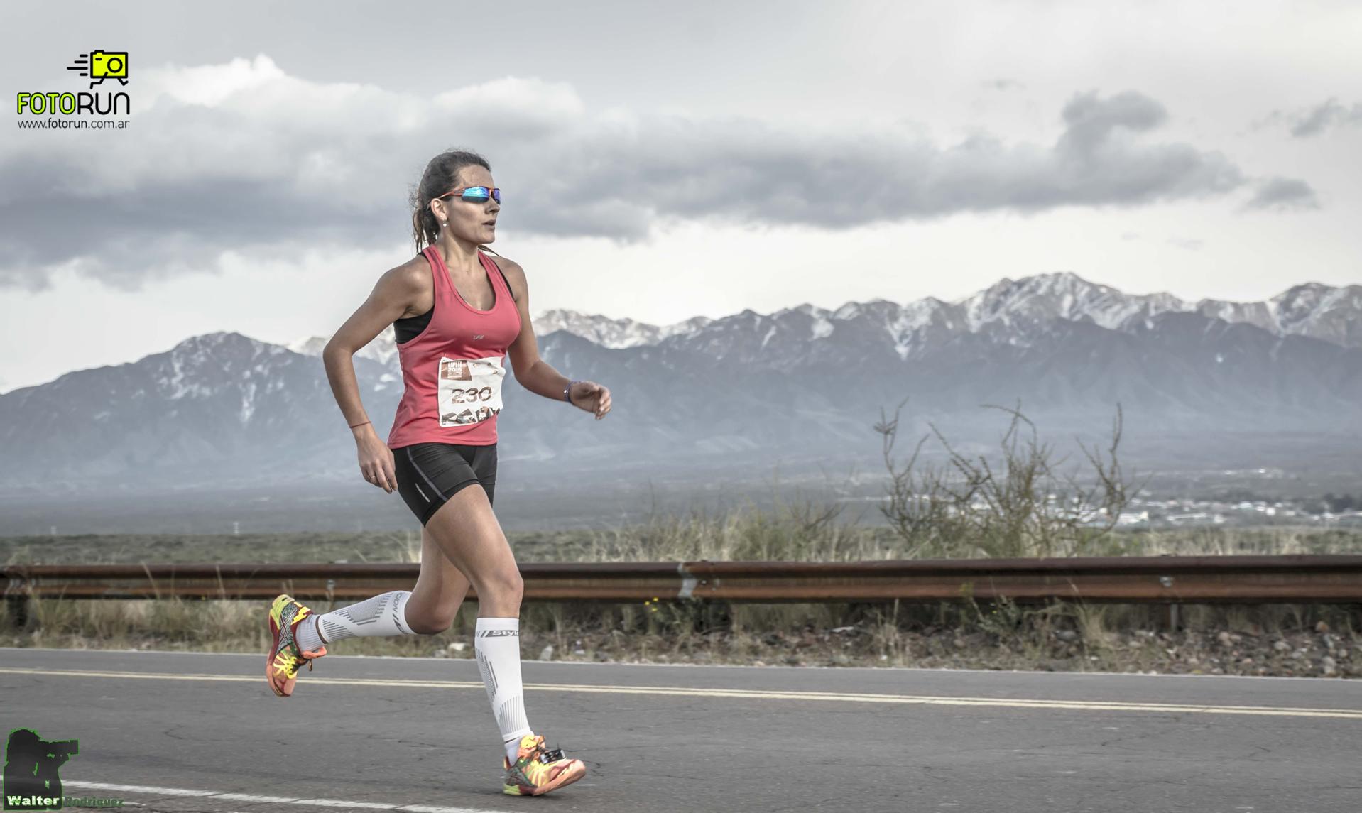 Esto fué la 17° Maratón Internacional de Mendoza.