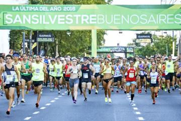 Las primeras fotos de San Silvestre Buenos Aires 2016