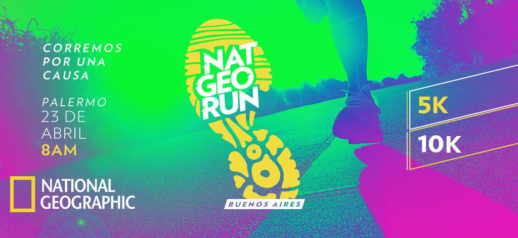 Por una sola causa: ya llega a la Argentina la NatGeo Run
