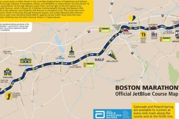 Todas estas maratones largan y llegan en un punto distinto