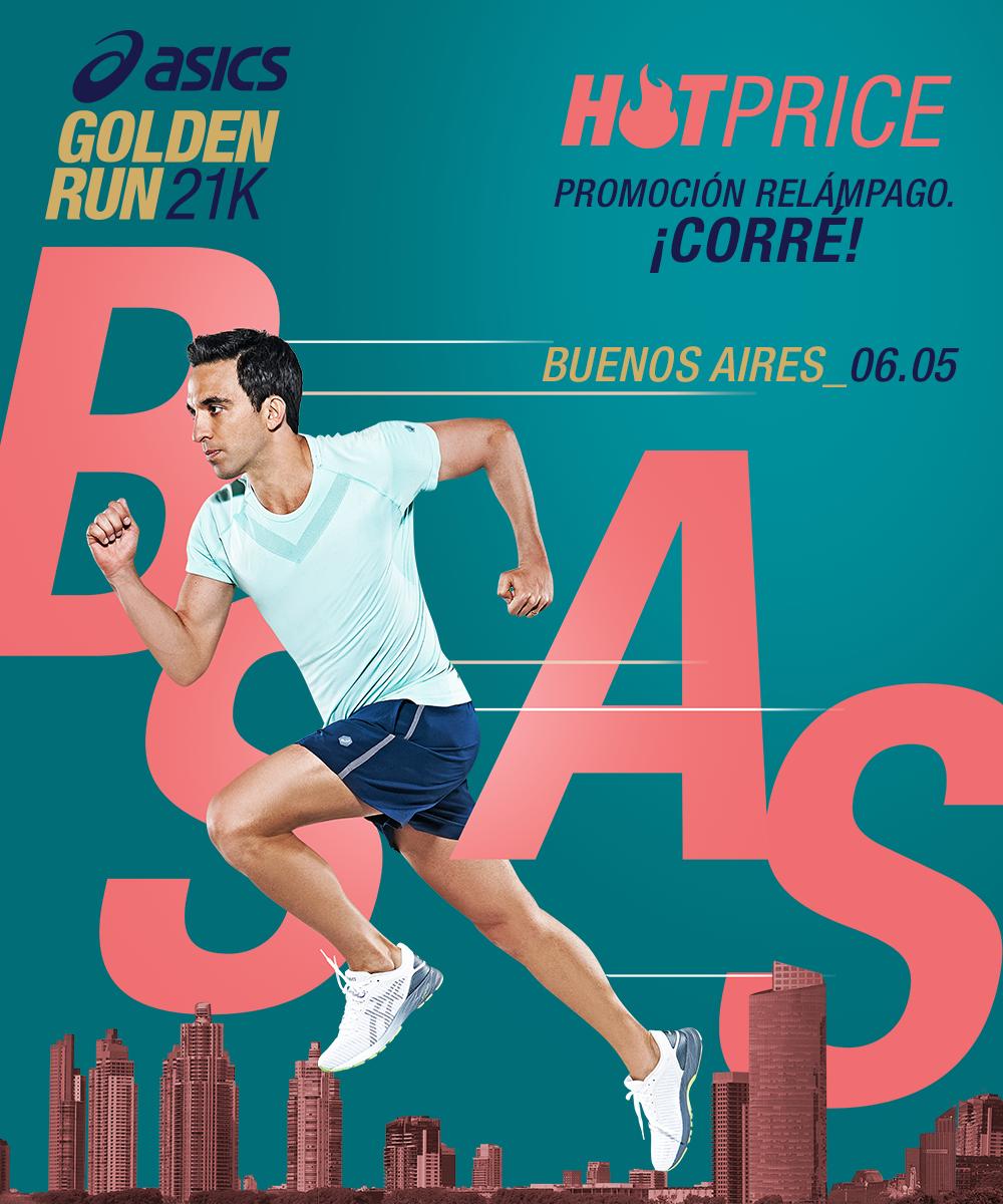 ASICS Atletismo oro