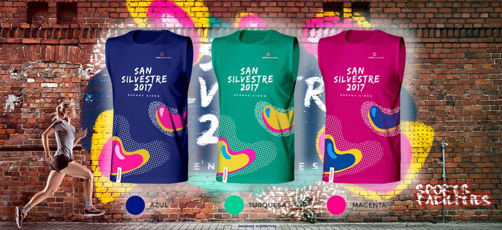 Retirá tu Kit de San Silvestre 2017
