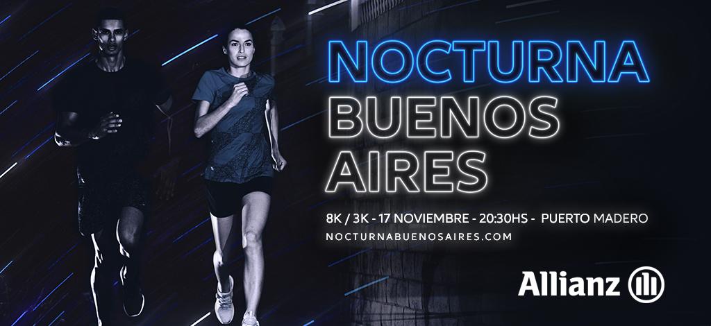 Inscripiones abiertas para ALLIANZ Nocturna Buenos Aires