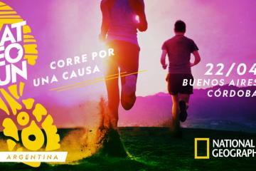 National Geographic te invita a correr en el Día de la Tierra