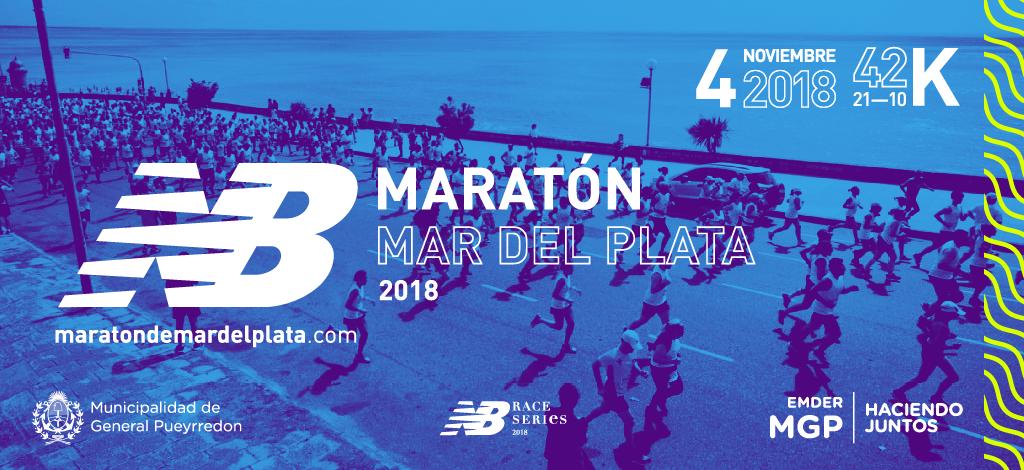 En Noviembre llega la NB Maratón Internacional de Mar del Plata