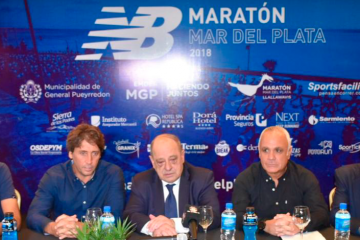 Se presentó la NB Maratón Internacional de Mar del Plata 2018