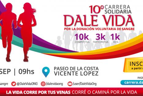 10° Carrera Dale Vida