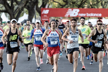 11 mil corredores colmaron las calles de Buenos aires en los 15K de New Balance