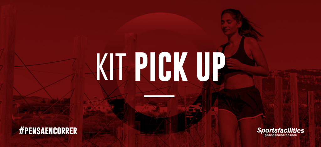 KIT PICK UP, retirá tu kit el día de la carrera