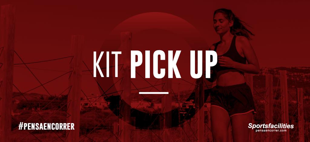 KIT PICK UP, retirá tu kit el día de la carrera