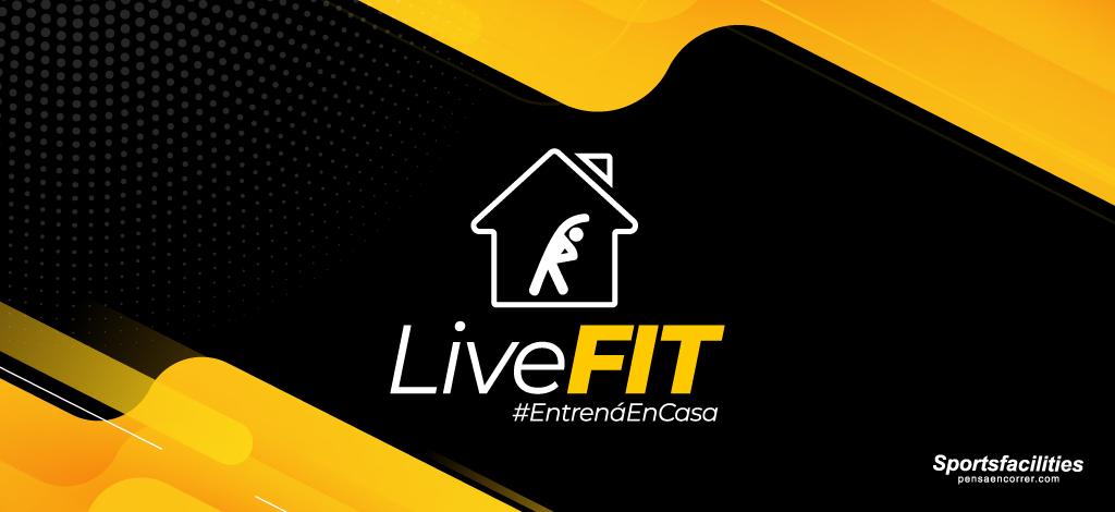 Live FIT: Entrená en casa con Caro, Natu y Sportsfacilities